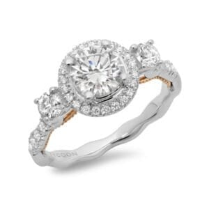 Tycoon Cut Engagement Ring