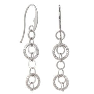 Sterling silver earrings EAR01530