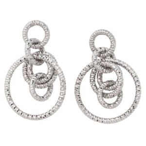 Sterling Silver earrings ear01493
