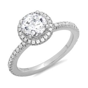 Halo Diamond EGAGEMENT RING RNG01962