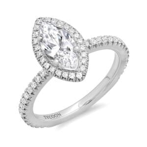Halo Diamond Engagement ring RNG01963