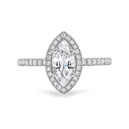 Halo Diamond EGAGEMENT RING