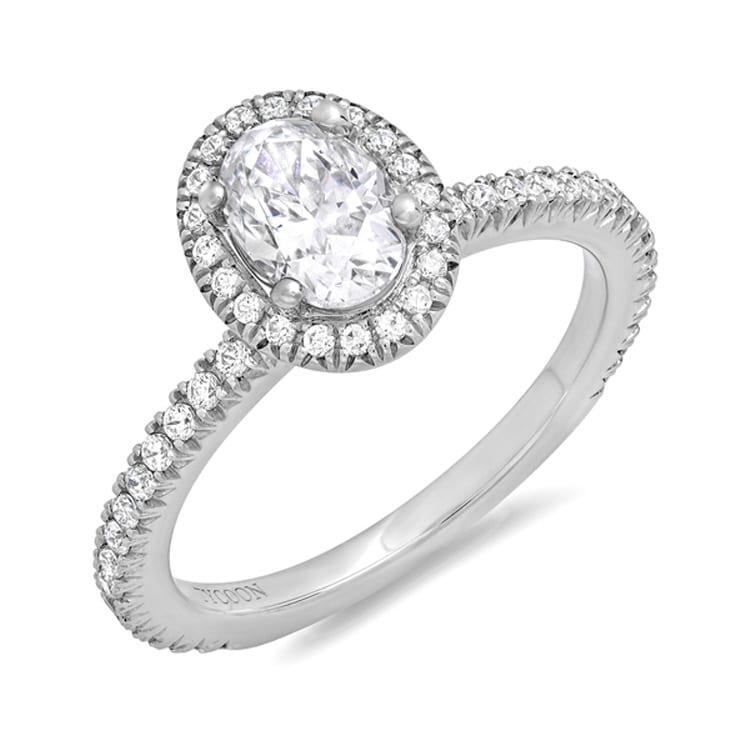Tycoon Halo Engagement Ring RNG01964