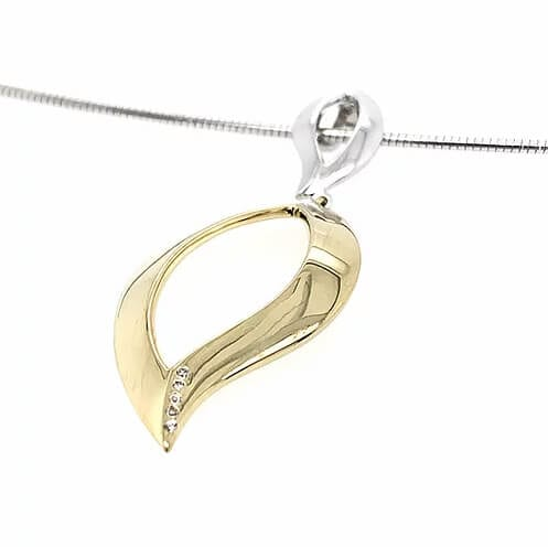 Silver & Gold Necklace