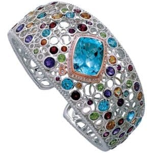 Bellarri blue topaz bracelet