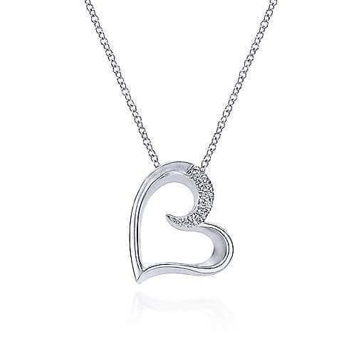 925 silver heart pendant
